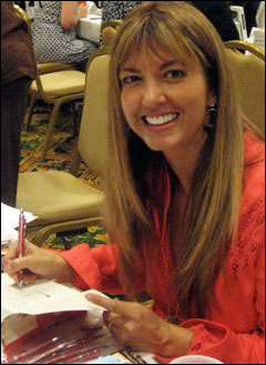 Jane at the 2008 RWA literacy signing