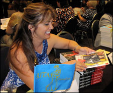 Jane at the RWA 2010 signing